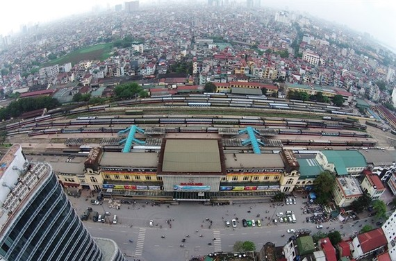 A bird view of the capital city. The Law on Planning was expected to be passed at the fourth meeting of the 14th National Assembly. (Photo: http://kientrucvietnam.org.vn)