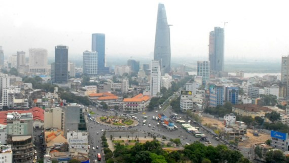 A view of HCMC (Photo: SGGP)
