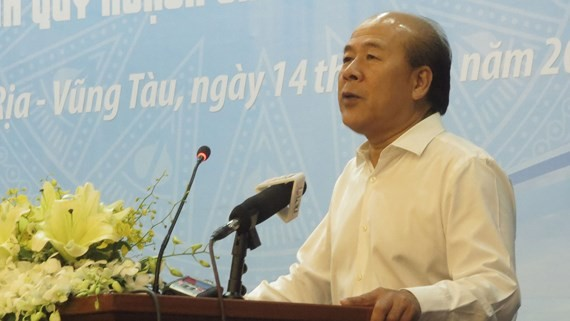 Deputy Minister of Transport Nguyen Van Cong states at the conference (Photo: SGGP)