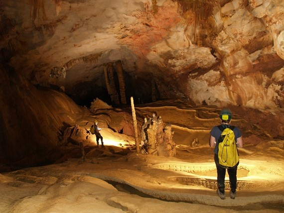 Phong Nha-Ke Bang national park has discovered 58 new caves (file photo)