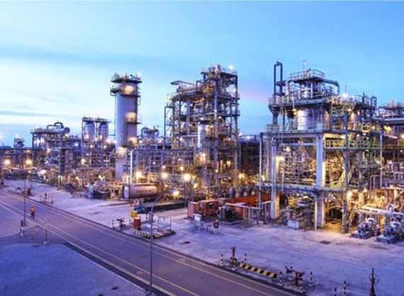 The model of Long Son Petrochemicals Complex in the future. (Photo baobariavungtau.com.vn)