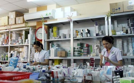 HCM City ensures adequate and timely supply of medicines. Illustrative image (Photo: soha.vn)