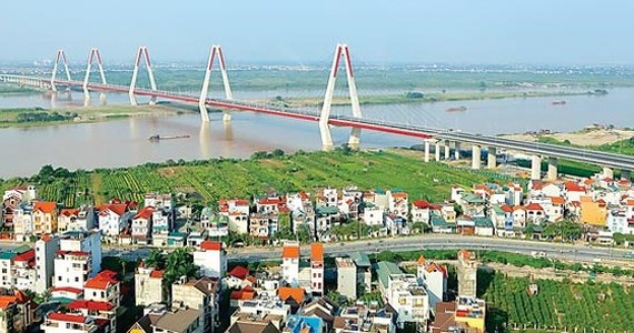 Nhat Tan bridge is one of ODA funded projects (Illustrative photo: SGGP)
