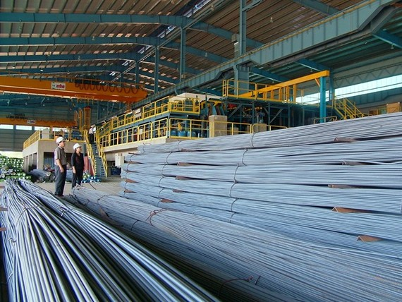 Analysts expect the operation of steel companies will not be effected significantly by the new tariff if it is put into action. (Photo: baocongthuong.com.vn)