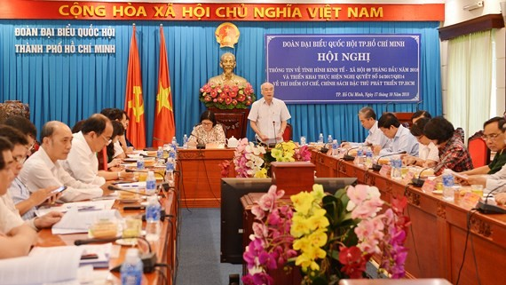 A view of the meeting (Photo: SGGP)