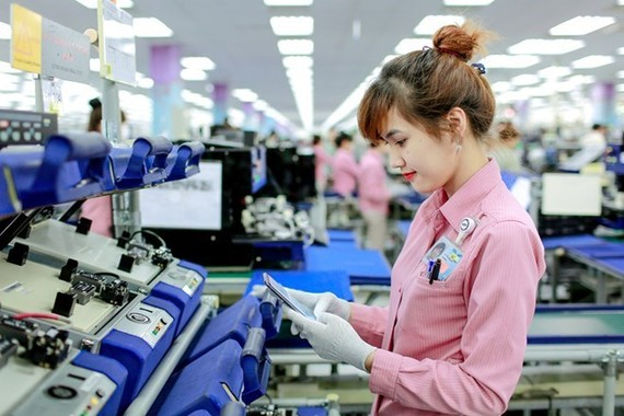 Hai Phong city and Hai Duong province have welcomed big high-tech foreign direct investment (FDI) projects this month (Photo: VNA)