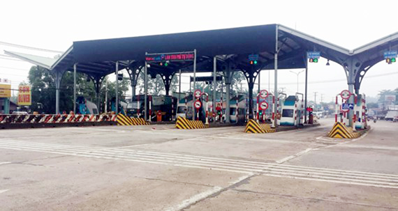A toll station in Bien Hoa city, Dong Nai province (Illustrative photo: SGGP)
