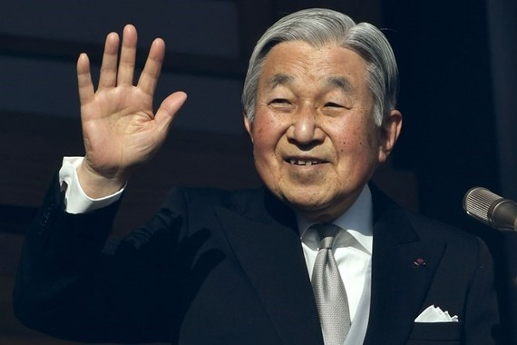 Japanese Emperor Akihito (Source: The Wall Street Journal)
