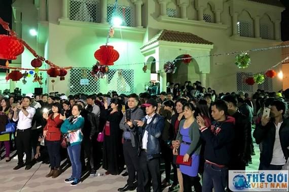 At the event (Photo: baoquocte.vn)