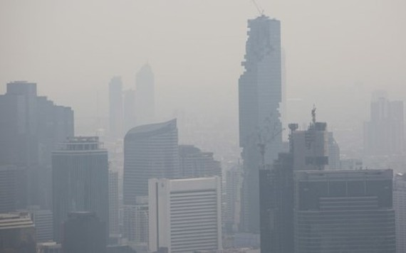 Air pollution in Bangkok (Source: internet)