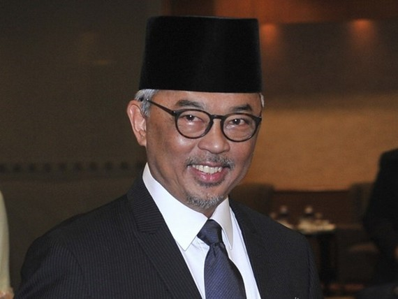 The Sultan of Pahang state, Abdullah Sultan Ahmad Shah, has become the new king of Malaysia (Photo: AP)
