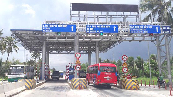 A tollbooth in Highway 91 (Photo: SGGP)
