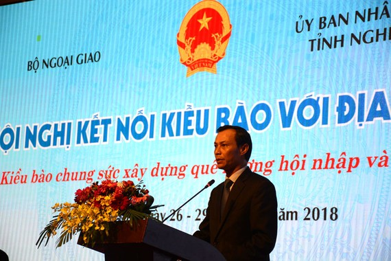 Luong Thanh Nghi, deputy head of the State Committee for Overseas Vietnamese Affairs