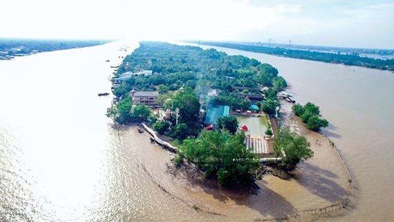 An top side view of Phung Islet (Photo: SGGP)