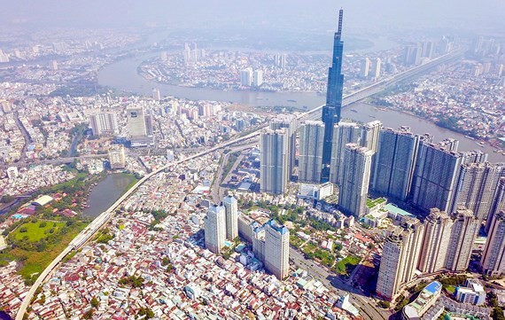 The master plan of HCMC will be revised to bolster local development (Photo: SGGP)