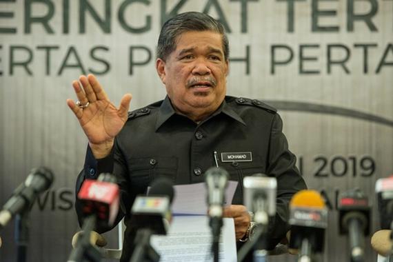 Malaysian Minister of Defence Mohamad Sabu (Photo: Bernama)