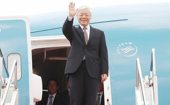 General Secretary of the Communist Party of Vietnam (CPV)'s Central Committee and President Nguyen Phu Trong (Photo: VNA)