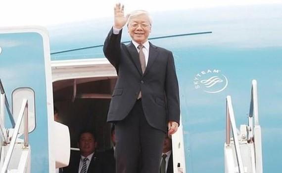 Party General Secretary and President Nguyen Phu Trong (Photo: VNA)