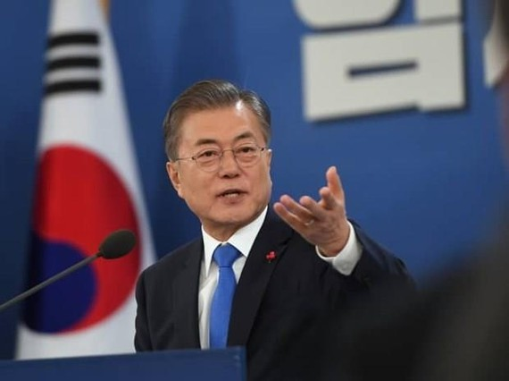 President of the Republic of Korea (RoK) Moon Jae-in (Photo: AFP/VNA)
