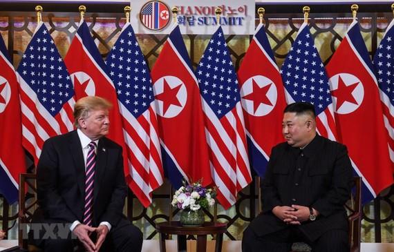 US President Donald Trump (L) and DPRK leader Kim Jong-un (Source: VNA)
