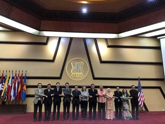 Delegates at the meeting (Photo: Vietnamese permanent mission to ASEAN)