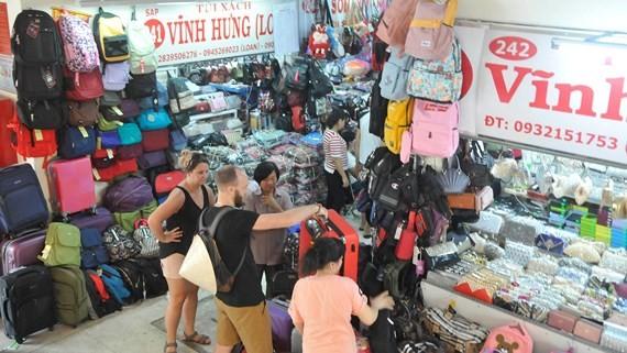 A corner of Binh Tay market, District 6, HCMC (Photo: SGGP)