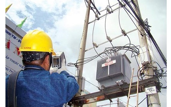 Electricity price will increase by an average of 8.36 percent by the end of March. (Photo: SGGP)