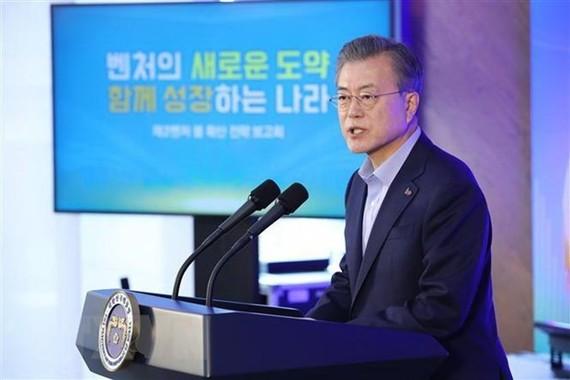 President of the Republic of Korea (RoK) Moon Jae-in (Source: Yonhap/TTXVN)