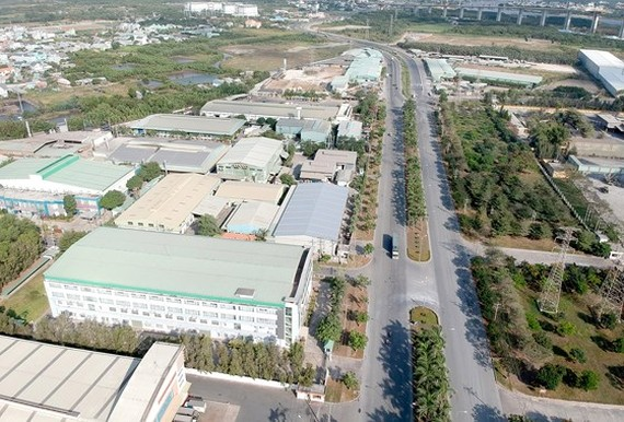 Hiep Phuoc Industrial Park in HCMC (Photo: SGGP)