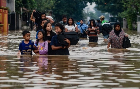 In Bandung, West Java, Indonesia (Source: AFP)
