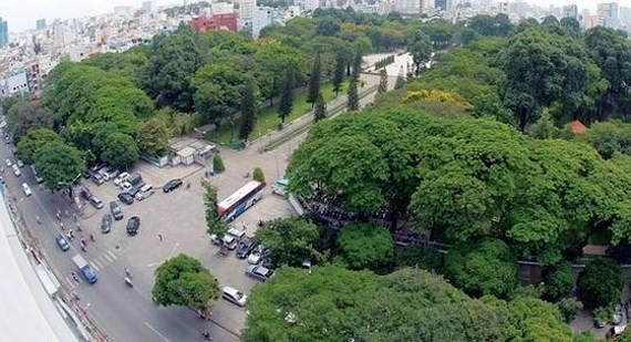 Le Van Tam Park in HCMC (Illustrative photo: SGGP)