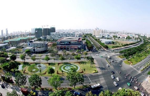 Phu My Hung urban area, District 7, Ho Chi Minh City (Source: VNA)