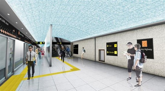Design of a subway station in Manila (Source: nna.jp)