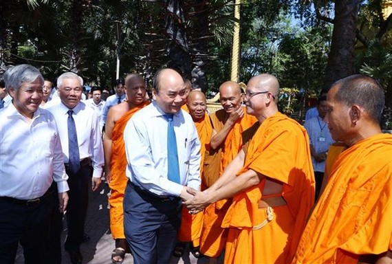 Prime Minister Nguyen Xuan Phuc visits Pali school (Source: VNA)