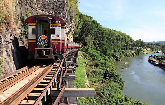 A railway in Thailand (Source: Nikkei Asian Review)