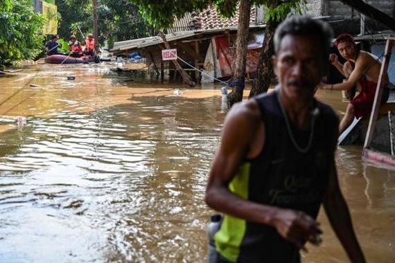 Flooding in Jakarta (Source: AFP)
