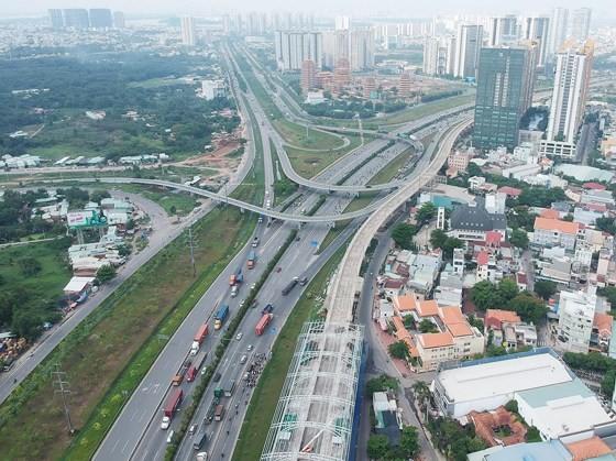 Ben Thanh-Suoi Tien metro line in District 9, HCMC (Photo: SGGP)