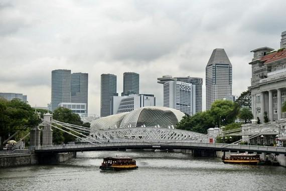 The skyline of Singapore (Photo: AFP/VNA)