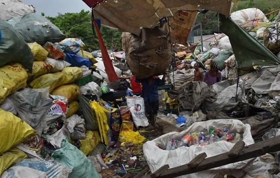 A landfill in Manila (Photo: AFP/VNA)