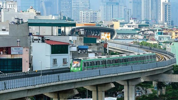 ​  Cat Linh-Ha Dong railway project has not come into operation in Hanoi as per schedule (Photo: SGGP)