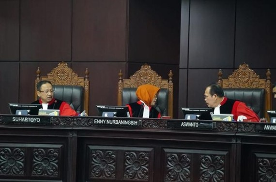 Indonesia's Constitutional Court on June 27 gave its ruling on petitions against the presidential election last April. (Source: asianews.it)