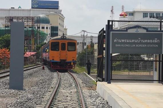 At Ban Klong Luk Border Station, Thailand. (Photo: bangkokpost.com)