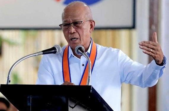 Defence Secretary of the Philippines Delfin Lorenzana (Source: File/Associated Press)