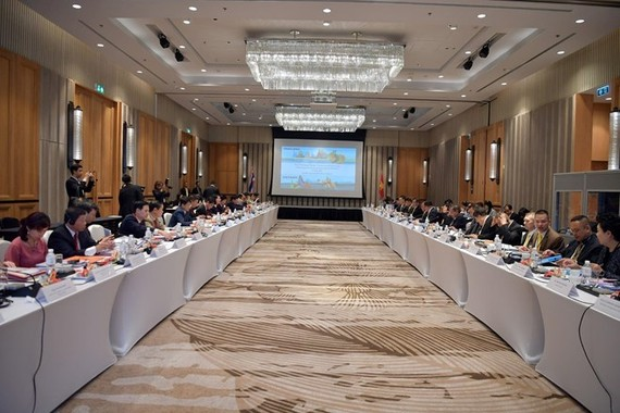 The Vietnam-Thailand Joint Working Group on Politics and Security (JWG) convened its 11th meeting in Hua Hin, Thailand, on July 31. (Photo: VNA)