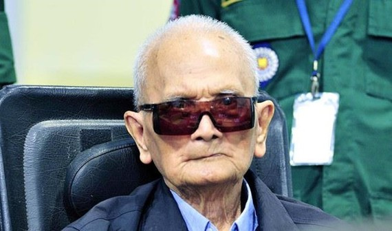 Former senior Khmer Rouge leader Noun Chea. (Photo: ECCC)