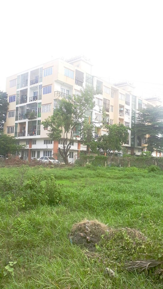 The residents are theoretically just temporary tenants without a land use rights certificate (Photo: SGGP)