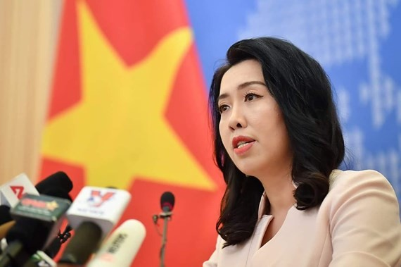 The Foreign Ministry's spokeswoman Le Thi Thu Hang