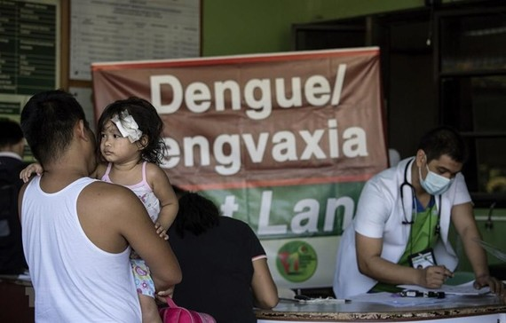 In a hospital in Manila, Philippines (Photo: AFP)