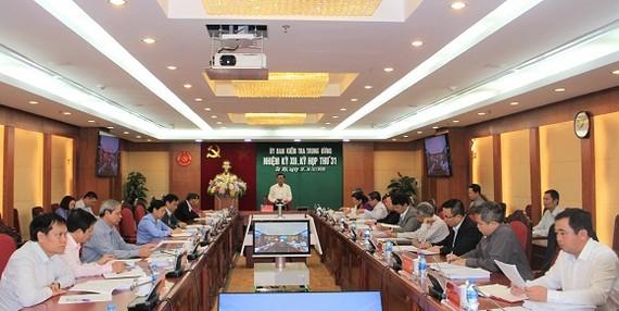 Thông cáo Kỳ họp thứ 31 của Ủy ban Kiểm tra Trung ương