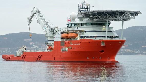 Tàu tìm kiếm Seabed Constructor của Ocean Infinity. Ảnh: INFINITY OCEAN